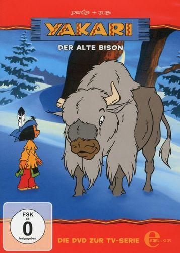 DVD Yakari 06  6 Der Alte Bison  TV-Serie 5 Folgen  OVP & NEU