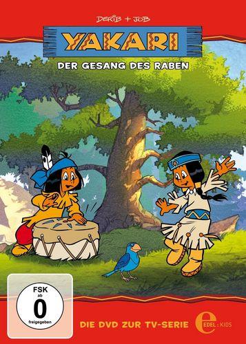 DVD Yakari 08  8 Der Gesang des Raben  TV-Serie 4 Folgen  OVP & NEU