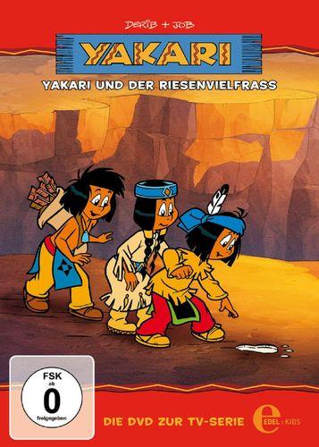 DVD Yakari 13 Yakari und der Riesenvielfraß  TV-Serie 4 Folgen  OVP & NEU
