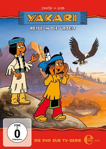 DVD Yakari 14 Reise in die Urzeit  TV-Serie 4 Folgen  OVP & NEU
