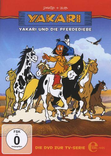 DVD Yakari 09  9 Yakari und die Pferdediebe  TV-Serie 4 Folgen  OVP & NEU
