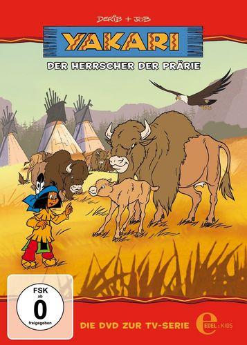 DVD Yakari 12 Der Herrscher der Prärie  TV-Serie 4 Folgen  OVP & NEU