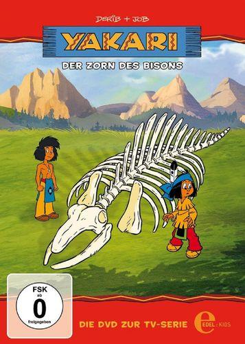 DVD Yakari 19 Der Zorn des Bisons  TV-Serie 3 Folgen  OVP & NEU