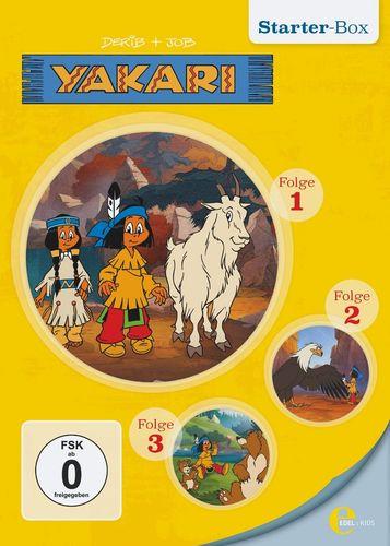 DVD Yakari Starter Box 1 mit DVD 1 + 2 + 3 mit 3x DVDs  TV-Serie 12 Folgen  OVP & NEU