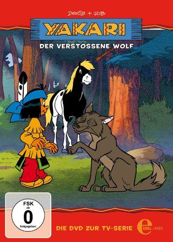 DVD Yakari 17 Der verstoßene Wolf  TV-Serie 4 Folgen  OVP & NEU