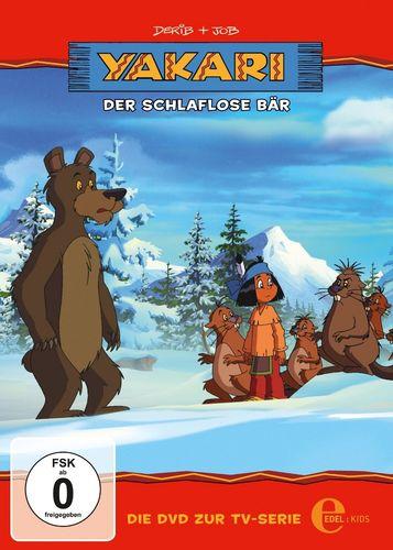 DVD Yakari 22 Der schlaflose Bär  TV-Serie 3 Folgen  OVP & NEU