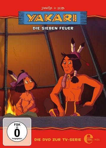 DVD Yakari 21 Die Sieben Feuer  TV-Serie 3 Folgen  OVP & NEU