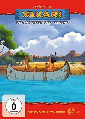DVD Yakari 24 Der Wächter des Felsens  TV-Serie 4 Folgen  OVP & NEU