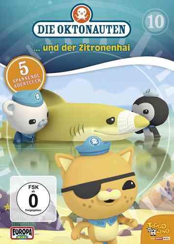 DVD Die Oktonauten 10 und der Zitronenhai  TV-Serie 5 Episoden OVP & NEU