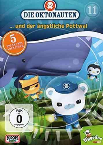 DVD Die Oktonauten 11 und der ängstliche Pottwal TV-Serie 5 Episoden OVP & NEU
