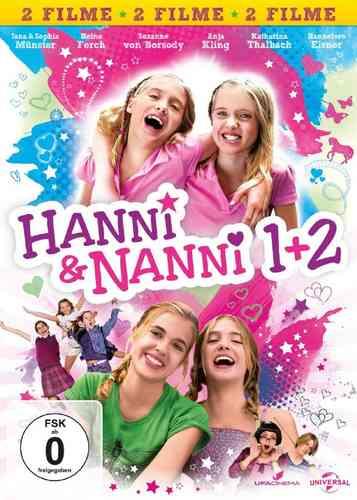 DVD Hanni und Nanni Kinofilm 1 + 2 Film 2x DVDs in Box NEU & OVP