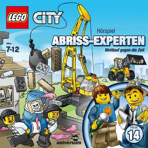 LEGO ® City Hörspiel CD 014 14 Abriss-Experten - Wettlauf mit der Zeit Universum Kids NEU & OVP