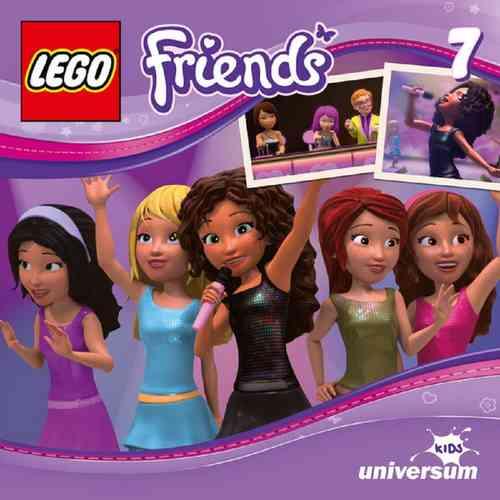 LEGO ® Friends Hörspiel CD 007 7 Die Talentshow Universum Kids NEU & OVP