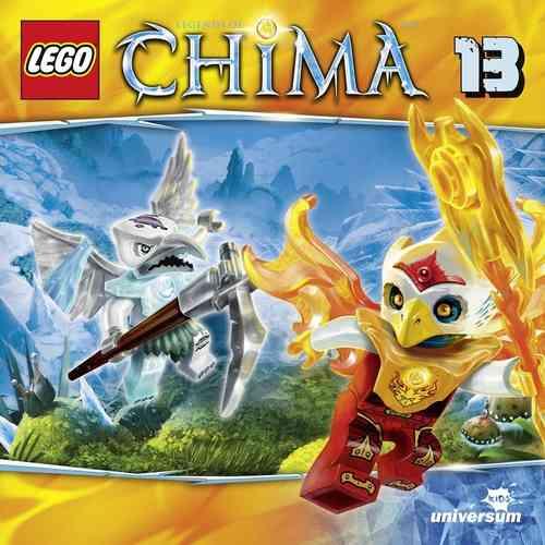 LEGO ® Legends of Chima Hörspiel CD 013 13 Die Gletscher-Falle Universum Kids NEU & OVP