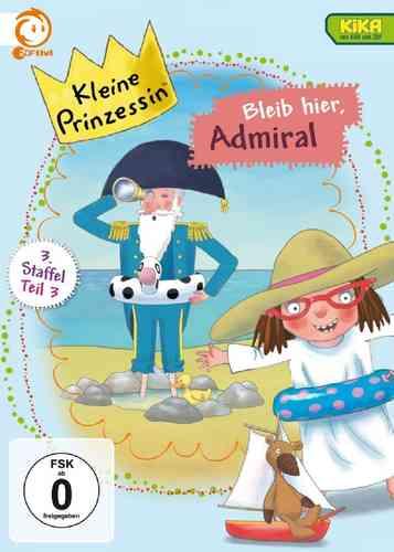 DVD Kleine Prinzessin - Box Staffel 3.3 Bleib hier, Admiral TV-Serie 13-18 OVP NEU