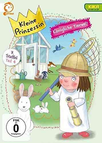 DVD Kleine Prinzessin - Box Staffel 3.4 Königliche Tierwelt TV-Serie 19-24 OVP NEU