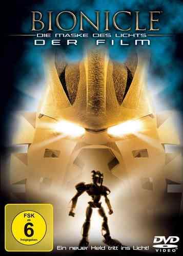 DVD LEGO ® Bionicle 1 - Der Film - Die Maske des Lichts NEU & OVP