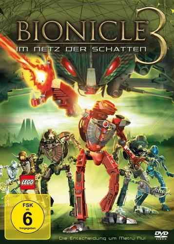 DVD LEGO ® Bionicle 3 - Im Netz der Schatten  NEU & OVP