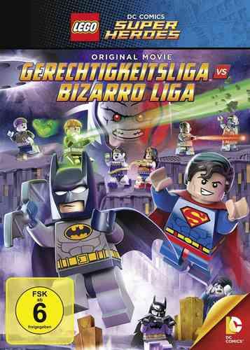 DVD LEGO ® DC Comics Super Heroes Gerechtigkeitsliga vs. Bizarro Liga  NEU & OVP