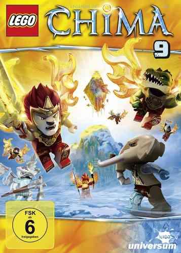DVD LEGO ® Legends of Chima 09 9 TV-Serie Episoden 36-41 NEU & OVP