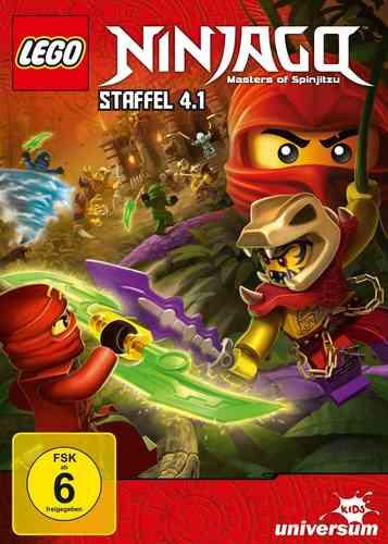DVD LEGO ® Ninjago Masters of Spinjitzu Staffel 04 4.1 TV Serie Episoden 35-38 BOX NEU & OVP