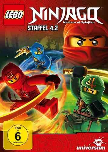 DVD LEGO ® Ninjago Masters of Spinjitzu Staffel 04 4.2 TV Serie Episoden 39-44 BOX NEU & OVP