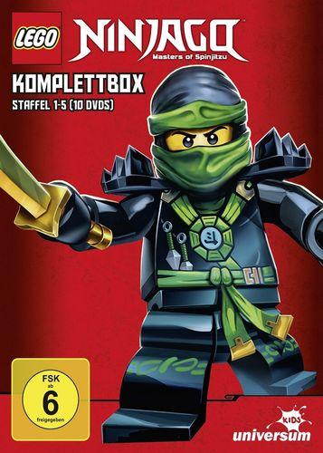 DVD LEGO ® Ninjago Masters of Spinjitzu Staffel 1 2 3 4 5 TV Serie komplett Box Episoden 01-54  NEU