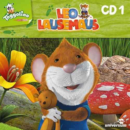 Leo Lausemaus Hörspiel CD 001  1 Regeln sind blöd  TV-Serie Episode 1-9  Universum Kids NEU & OVP