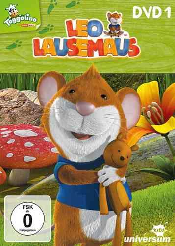 DVD Leo Lausemaus 01  1 Regeln sind blöd  TV-Serie Episode 1-9  Universum Kids NEU & OVP