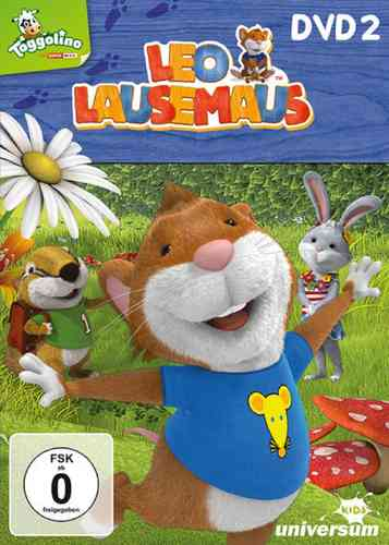 DVD Leo Lausemaus 02  2 Babysitter? Nein Danke!  TV-Serie Episode 10-18  Universum Kids NEU & OVP