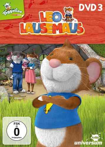 DVD Leo Lausemaus 03  3 Papas Werkstatt  TV-Serie Episode 19-27  Universum Kids NEU & OVP