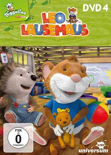 DVD Leo Lausemaus 04  4 Endlich Ferien!  TV-Serie Episode 28-36  Universum Kids NEU & OVP