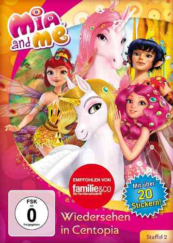 DVD Mia and Me 14 Wiedersehen in Centopia Staffel 2 1 TV-Serie 01+02 OVP & NEU