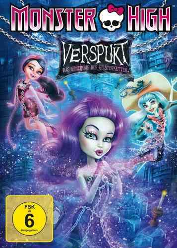 DVD Monster High 8 - Verspukt: Das Geheimnis der Geisterketten  OVP & NEU