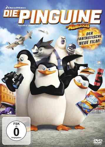 DVD Die Pinguine aus Madagascar 1 Kinofilm  OVP & NEU
