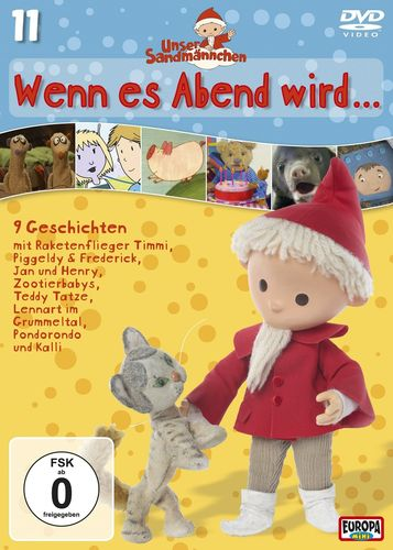 DVD Unser Sandmännchen 11 Wenn es Abend wird ...  TV-Serie OVP & NEU