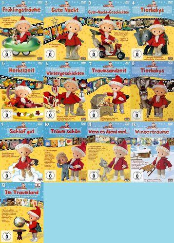 DVD Unser Sandmännchen 1 - 13 x DVDs komplett Sammlung TV-Serie OVP & NEU