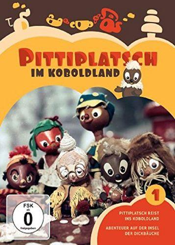 DVD Pittiplatsch aus Unser Sandmännchen 01 1 Pittiplatsch im Koboldland  TV-Serie 2 DVDs OVP & NEU
