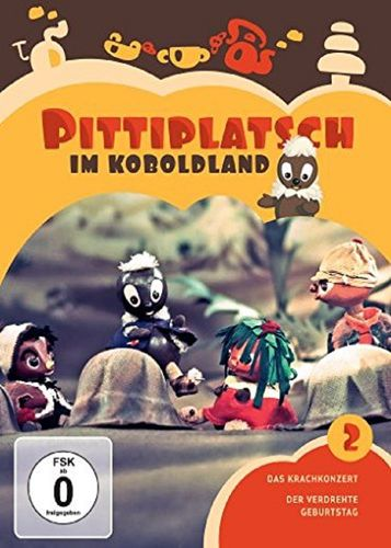 DVD Pittiplatsch aus Unser Sandmännchen 02 2 Pittiplatsch im Koboldland  TV-Serie 2 DVDs OVP & NEU