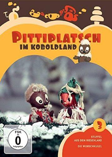 DVD Pittiplatsch aus Unser Sandmännchen 03 3 Pittiplatsch im Koboldland  TV-Serie 2 DVDs OVP & NEU