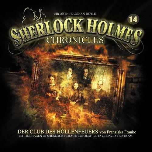 Sherlock Holmes Chronicles Hörspiel CD 014 14 Der Club des Höllenfeuers 2er Box NEU & OVP