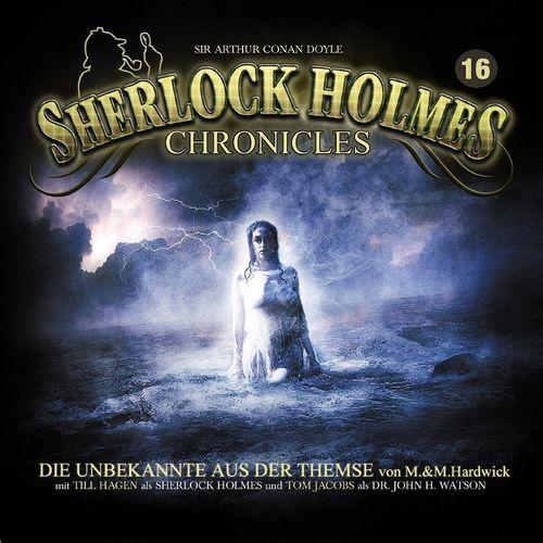 Sherlock Holmes Chronicles Hörspiel CD 016 16 Die Unbekannte aus der Themse 2er Box NEU & OVP