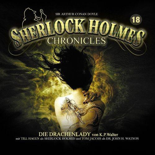 Sherlock Holmes Chronicles Hörspiel CD 018 18 Die Drachenlady NEU & OVP