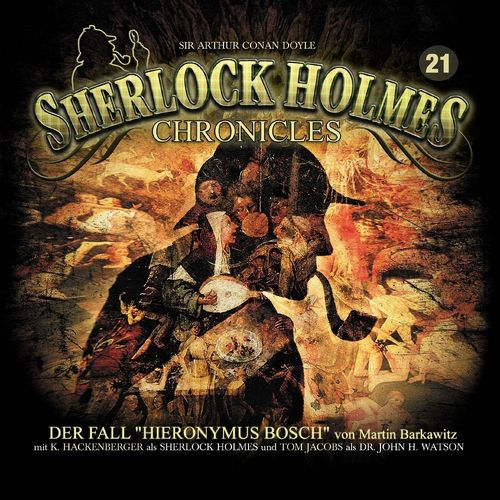 Sherlock Holmes Chronicles Hörspiel CD 021 21 Der Fall Hieronymus 2er Box NEU & OVP