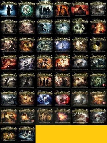 Sherlock Holmes Chronicles Hörspiel CD 1 - 44 x CDs komplett Sammlung NEU & OVP