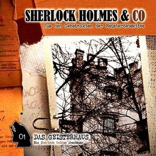 Sherlock Holmes & Co Hörspiel CD 001 1 Das Geisterhaus NEU & OVP