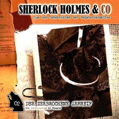 Sherlock Holmes & Co Hörspiel CD 002 2 Der zerbrochene Armreif NEU & OVP