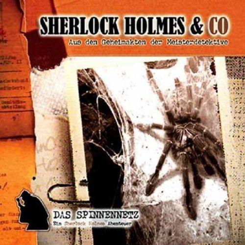 Sherlock Holmes & Co Hörspiel CD 005 5 Das Spinnennetz NEU & OVP