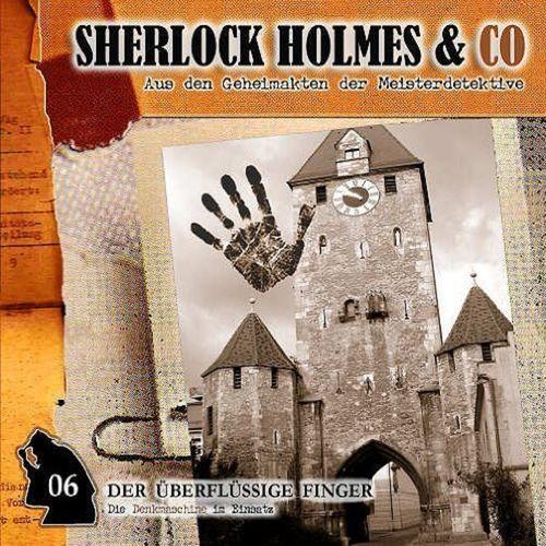 Sherlock Holmes & Co Hörspiel CD 006 6 Der überflüssige Finger NEU & OVP