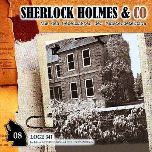 Sherlock Holmes & Co Hörspiel CD 008 8 Loge 341 NEU & OVP
